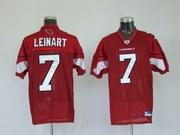 Reebok NFL Jerseys Arizona Cardicals  Matt Leinart Red
