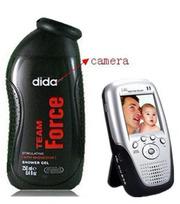 1080P Spy Men shampoo bathroom Spy Camera Hidden Mini Camera 32GB