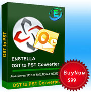 Remaining OST to PST software to convert data from OST file into PST f