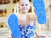 Animal Traks Childrens Flip Flops