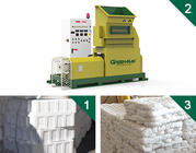 EPS Recycling with GREENMAX MARS SERIES Foam Densifier